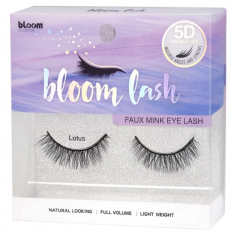 BLOOM 5D Faux Mink umelé mihalnice - Lotus