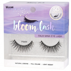 BLOOM 5D Faux Mink umelé mihalnice - Poppy