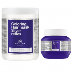 Kallos Cosmetics Coloring Hair Mask Silver Reflex