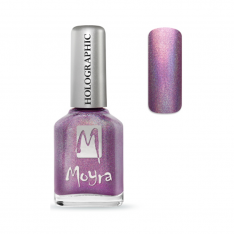 Moyra Holographic Effect lak na nechty 255 Gravity 12ml