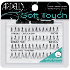 Ardell SOFT Touch Trsy COMBO pack short, medium, long