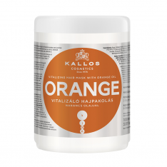 Kallos KJMN ORANGE maska na vlasy 1000 ml