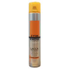 EVIN RHOSE Extra Strong Hold lak na vlasy 500 ml
