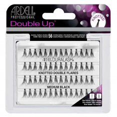 Ardell Double Up Knotted trsy objemové s uzlíkom Medium Black - stredné